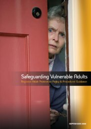 Safeguarding Vulnerable Adults - Northern Health and Social ...