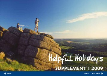 SUPPLEMENT 1 2009 - Helpful Holidays