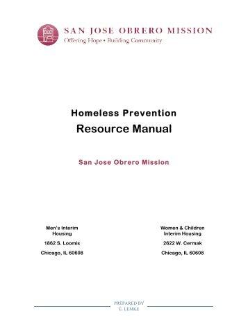 Resource Manual - San Jose Obrero Mission