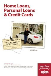 Home Loans, Personal Loans & Credit Cards - BECU
