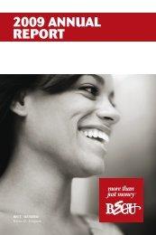 2009 ANNUAL REPORT - BECU