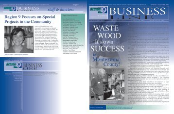 2007 Spring/Summer Newsletter - Region 9 Economic Development ...