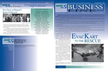 2009 Summer Newsletter - Region 9 Economic Development District