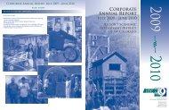Corporate Annual Report - Region 9 Economic Development District