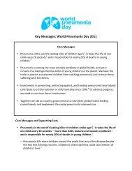 Key_Messages - World Pneumonia Day