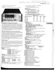 Agilent 83650A Datasheet - TekNet Electronics