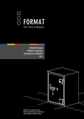 Format Tresor Produktkatalog 2011 - Euro Tresor Kft.
