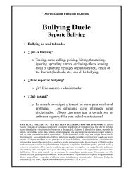 Bullying Duele