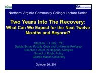 NVCC October 26th.pdf - Center for Regional Analysis - George ...