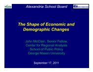 The Shape of Economic and Demographic Changes - Center for ...