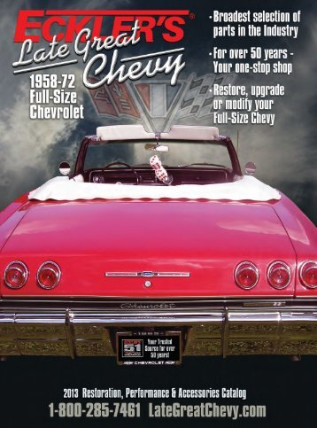 Complete Late Great Chevy Catalog - Ecklers Late Great Chevy