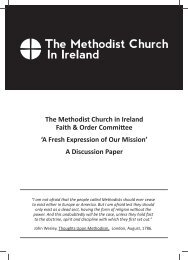 A Fresh Expression of Our Mission - The Methodist Church in Ireland