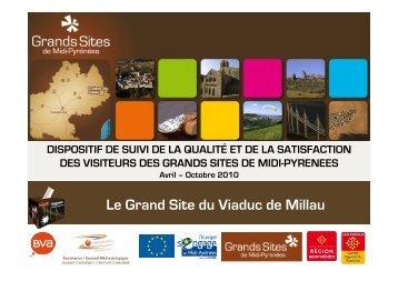 Le Grand Site du Viaduc de Millau - Office de Tourisme Larzac ...
