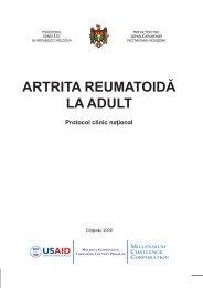 ARTRITA REUMATOIDĂ LA ADULT - Ministerul Sănătăţii