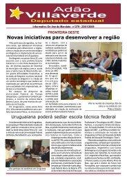 Informativo - Adão Villaverde