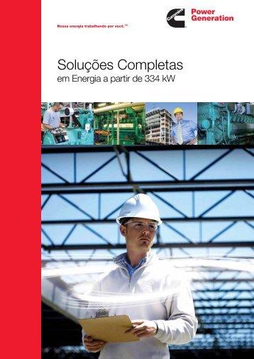 Catálogo de Soluções Completas em Energia - Cummins Power ...
