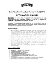 Evans Waterless Heavy Duty Thermal Coolant (HDTC)