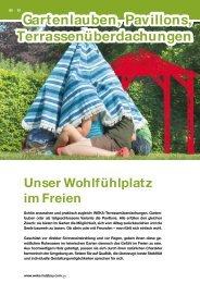 Katalog WEKA Gartenlauben 2013