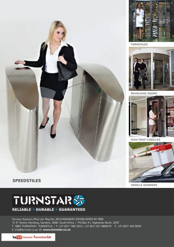 Full Product Catalogue - Turnstar