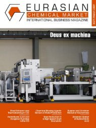 Eurasian chemical market. Issue 3(27). March 2009
