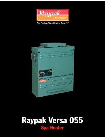 Raypak Versa 055 - H2Oco.com