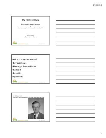 Presentation as Handout (3 slides per page) - Maine Indoor Air ...