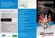 Music Festival - Barooga Sports Club