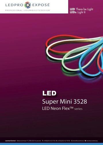Super Mini 3528 LED Neon Flex