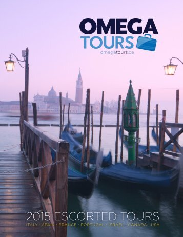 2015 Escorted Tours