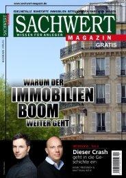 Sachwert Magazin gratis ePaper, Nr. 29