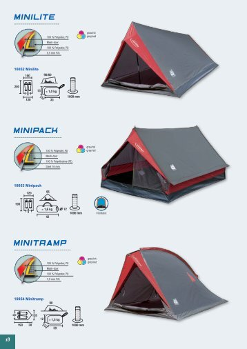 Minilite MinitraMP MiniPaCK - Bear & Water