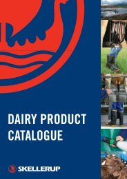 DAIRY PRODUCT CATALOGUE - Skellerup 2500 Change > Home