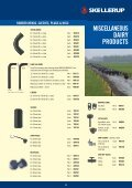 DAIRY PRODUCT CATALOGUE - Skellerup 2500 Change > Home - Page 7
