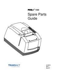 POSjet 1500 Spare Parts Guide - TransAct