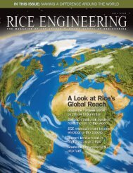 A Look at Rice's Global Reach - Princomm.com