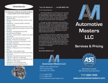 Brochure - Automotive Masters