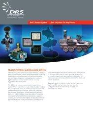 Multi-spectral surveillance systeM