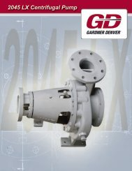 2045 LX Centrifugal Pump - QUINCIE Oilfield Products