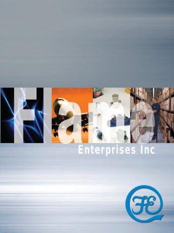 Line card - Flame Enterprises