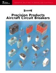 Sensata Klixon 60 AMP Aircraft Circuit Breaker 6752-100-60 MS25361-60