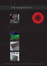 LED - Lichttechnik 2011 LED - Lichttechn - Inprotec