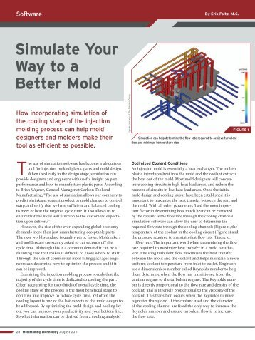 Simulate Your Way to a Better Mold - The Madison Group