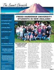 June - New Plymouth Church of Christ