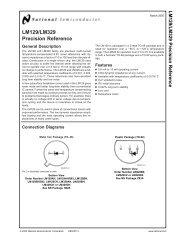 National Semiconductor IC 6.9V LM329DZ.. Volt Ref Precision