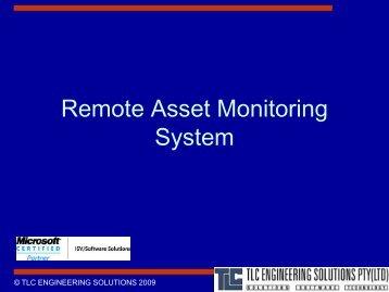Silo Control Room Application - TLC Engineering Solutions