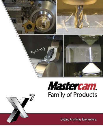 Learn about the Mastercam Family of Products