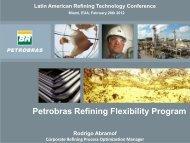 Petrobras Refining Flexibility Program - Global Technology Forum
