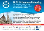 ERTC 18th Annual Meeting - Global Technology Forum