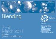 Blending - Global Technology Forum