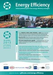 ERTC Energy Efficiency - Global Technology Forum